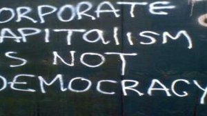 corporate capitalism is not democracy
