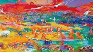Circus Painting by Leroy Neiman